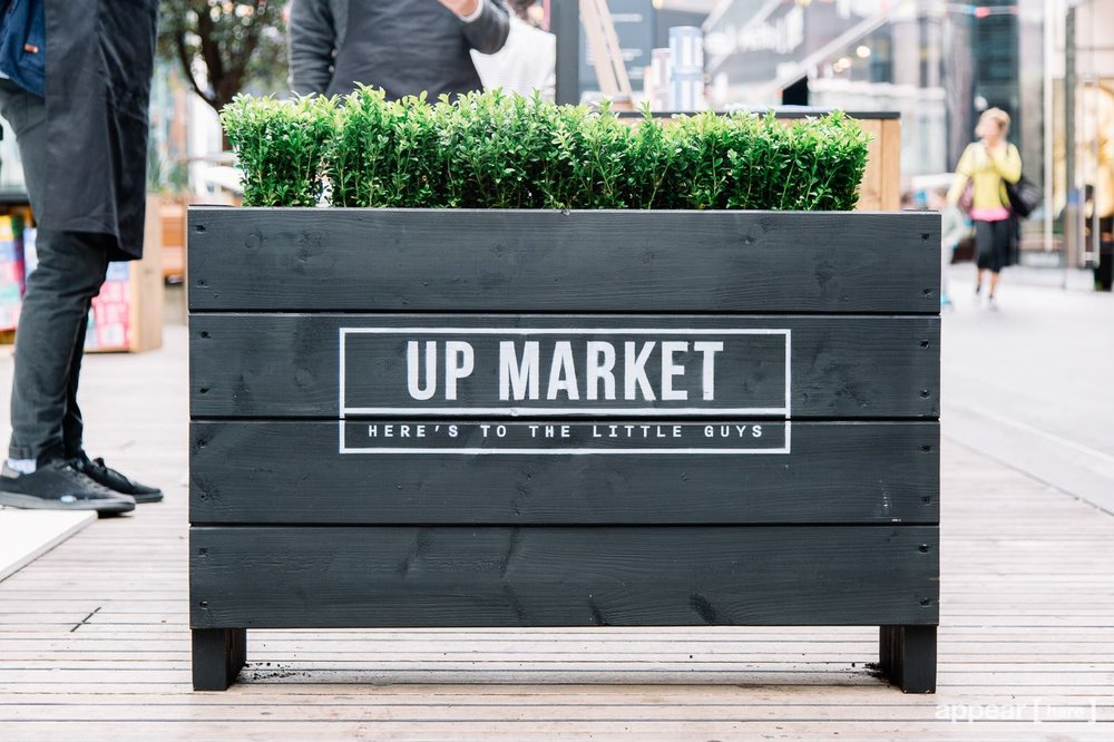 Quirky Group Planters - for Appear Here