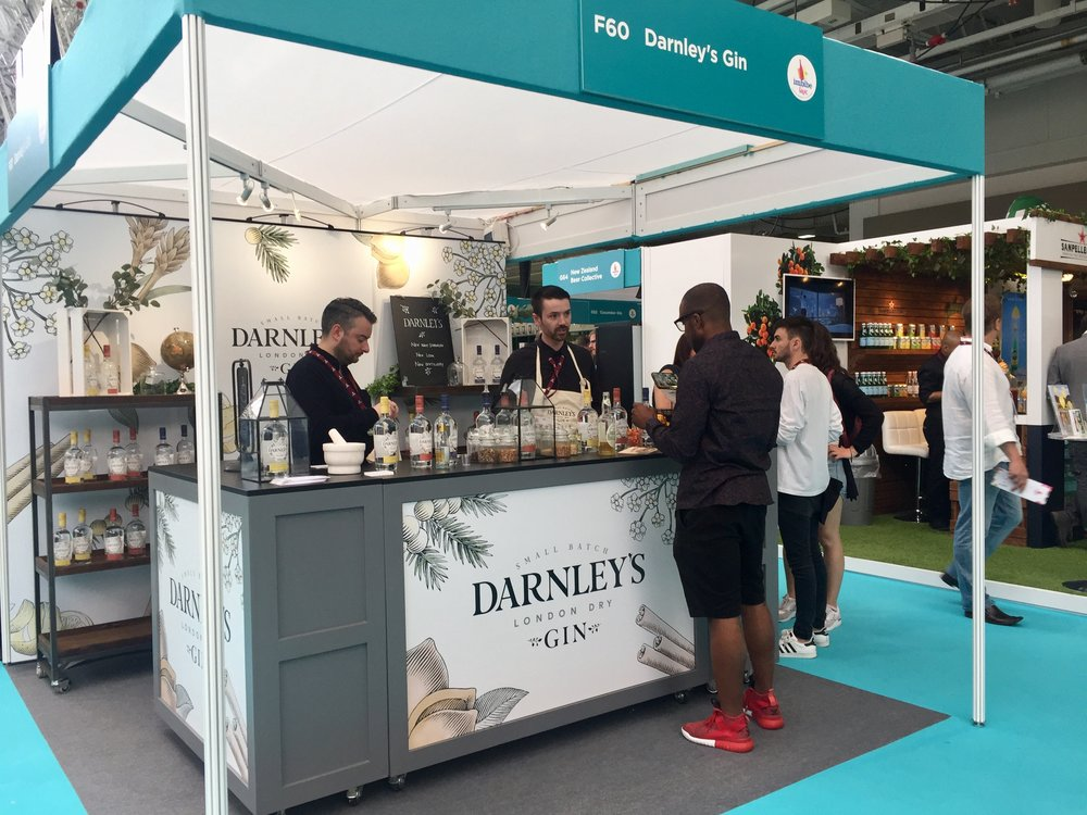 Darnley's Gin at Imbibe Live 2017