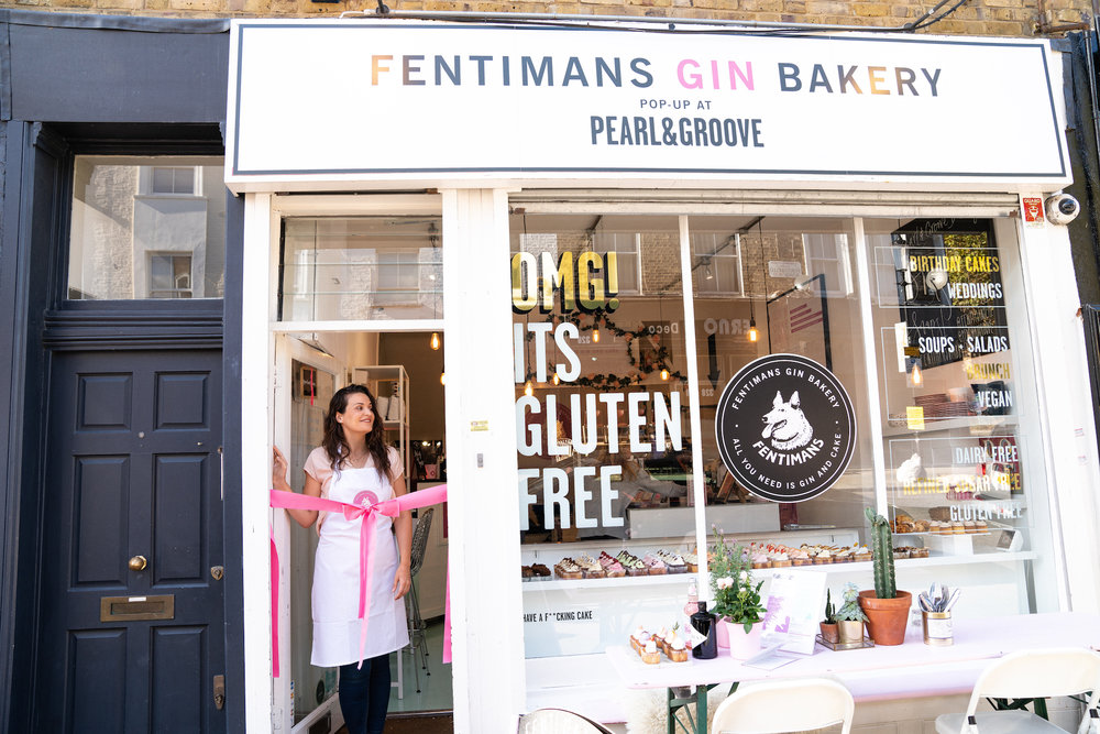 Fentimans Gin Bakery at Pearl & Groove with Sophie Faldo