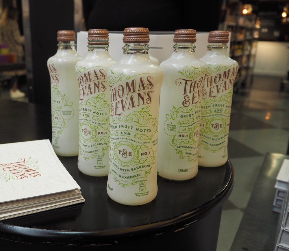 Thomas Evans Product Sampling in Harvey Nichols by Quirky Group