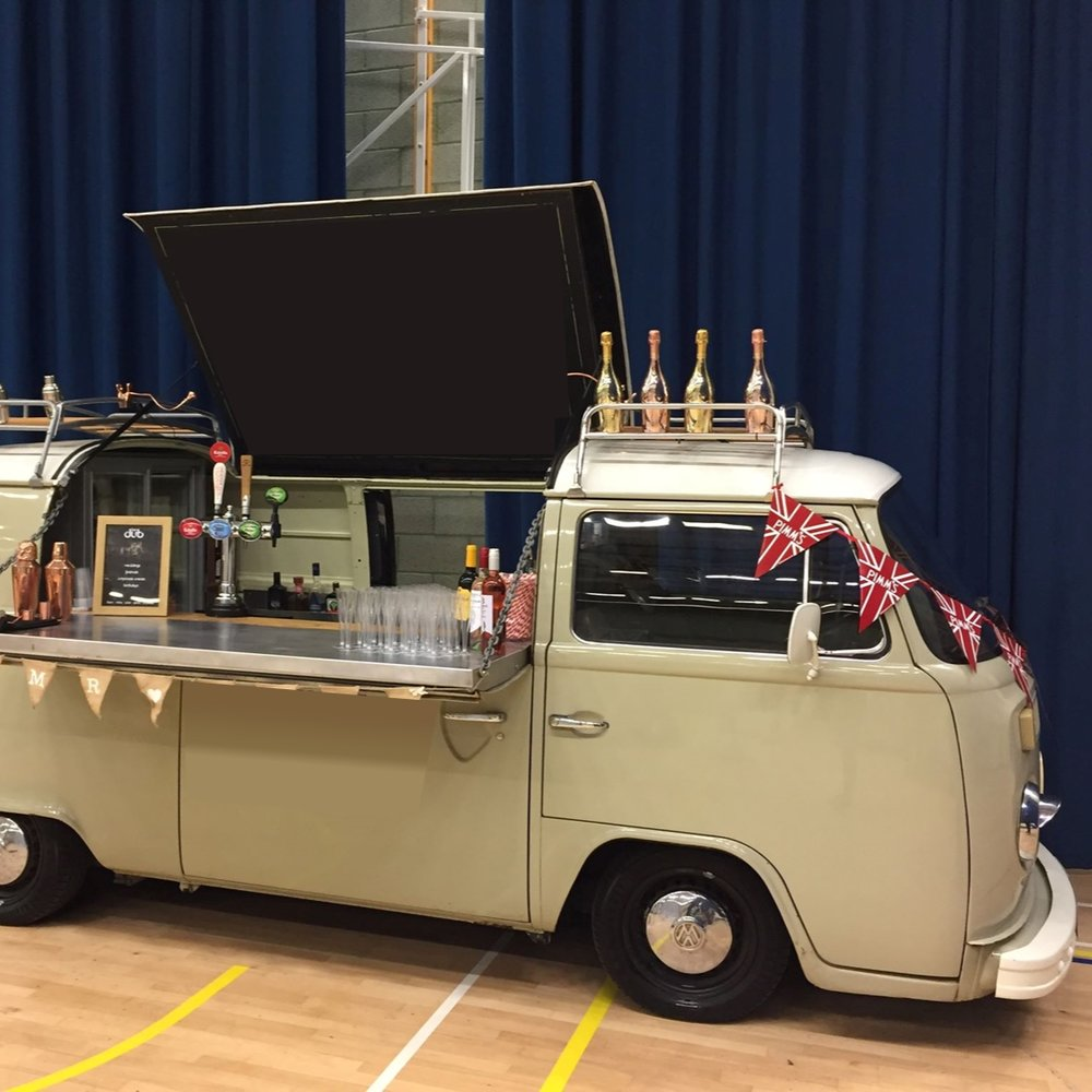 Quirky Group VW Camper Bar hire