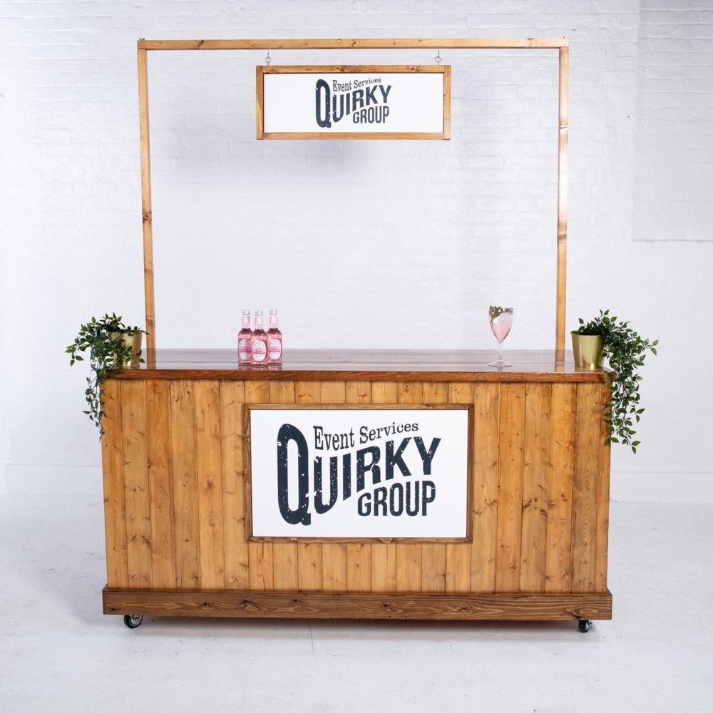 Quirky Group Six Foot Bar Hire
