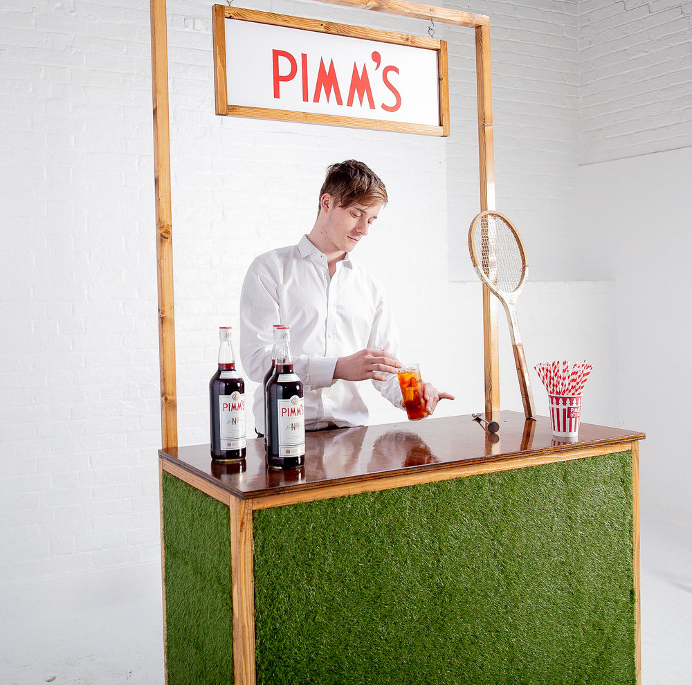 Quirky Group Grass Bar Hire