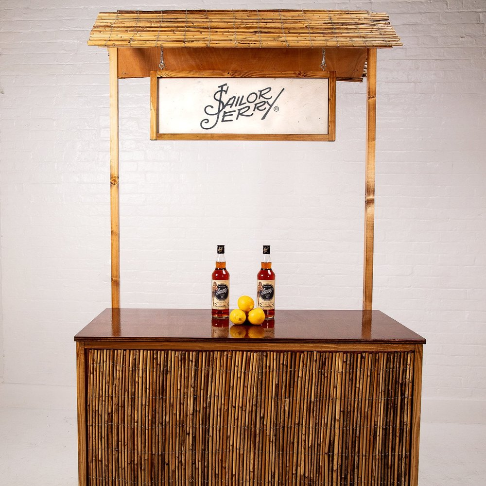 Quirky+Group+Small+Bamboo+Tiki+Bar+Hire