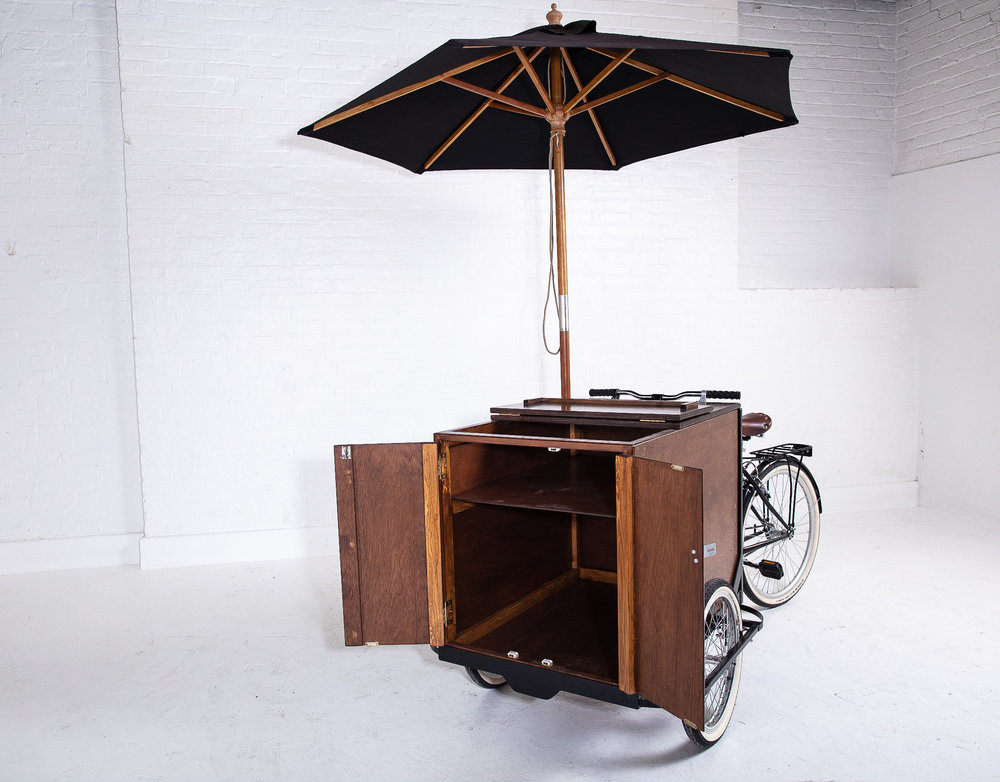 Quirky Group Branded Tricycle Bar for Hire