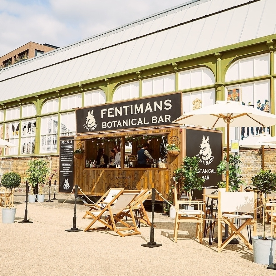 Fentimans+Botanical+Bar+Exterior+Event+Management+and+Staffing+Campaign+Quirky+Group