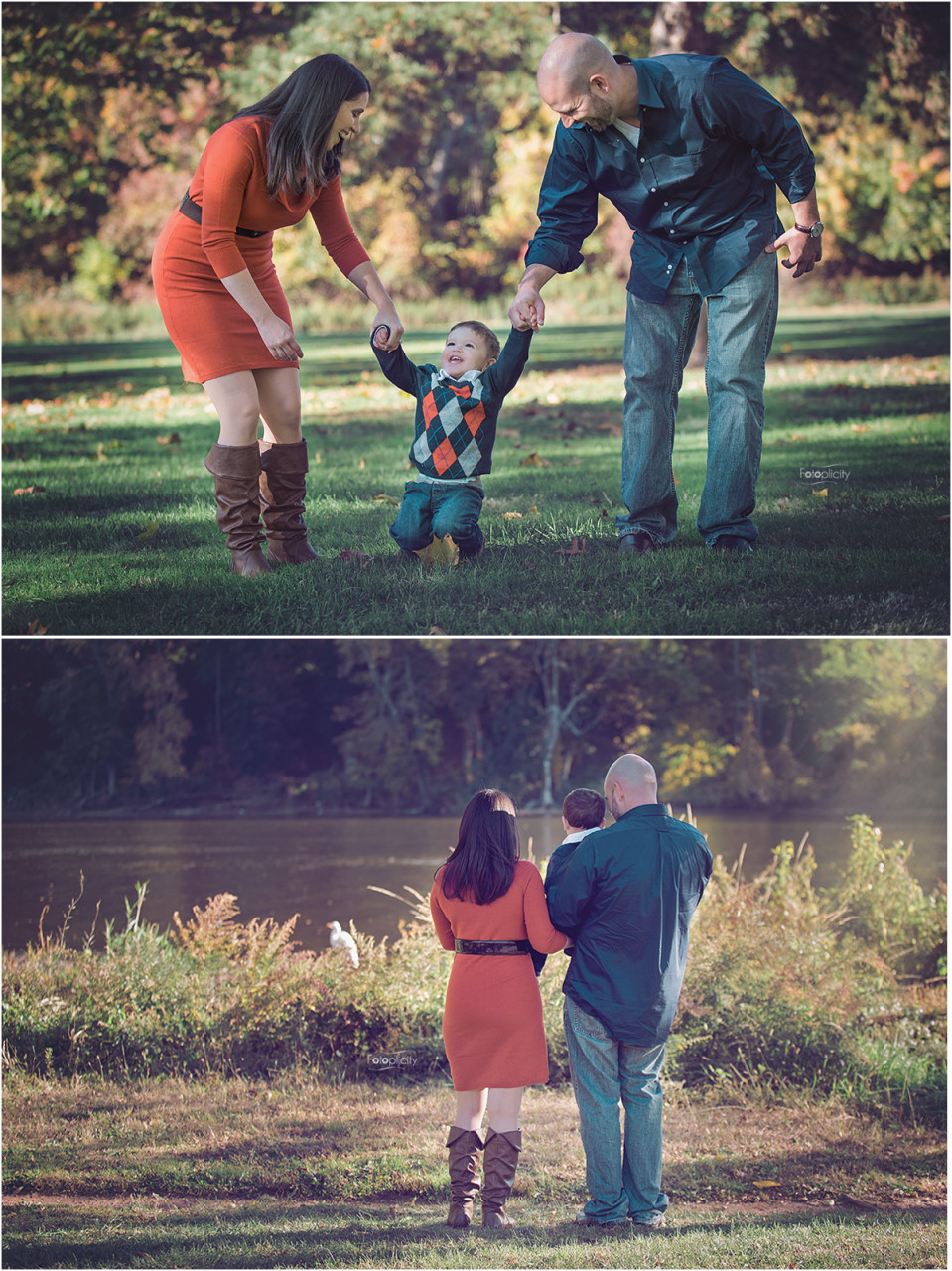 Family Fall Photo Session by Fotoplicity, Fall, Central NJ Photographer