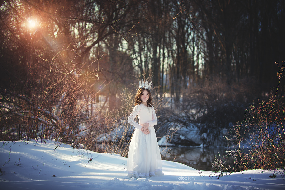 Winter Tween Enchanted Session by Fotoplicity, Central NJ Photographer