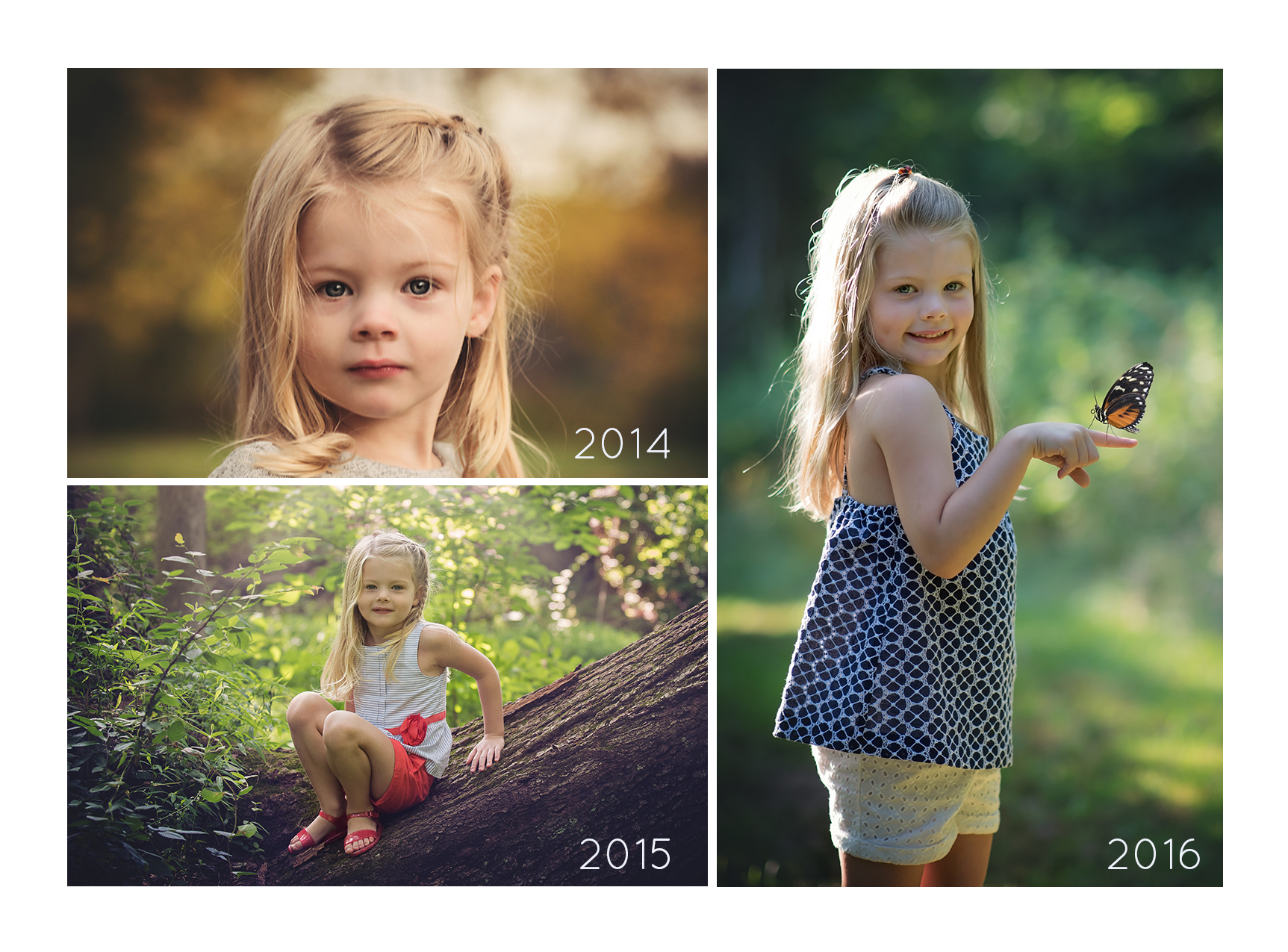 Fiona through years