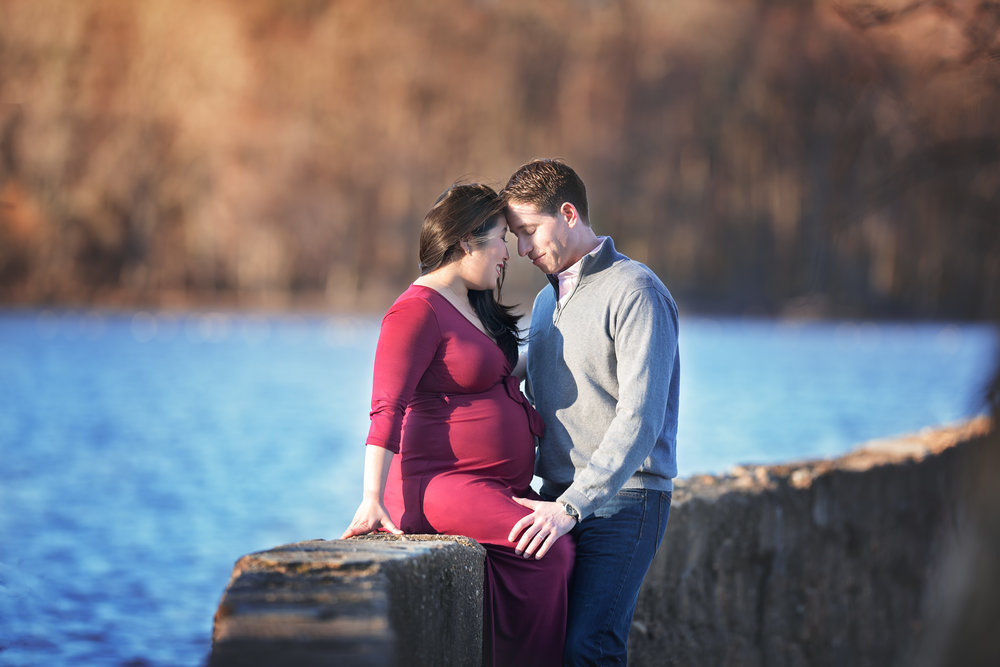 Maternity Couple by the Lake.jpg