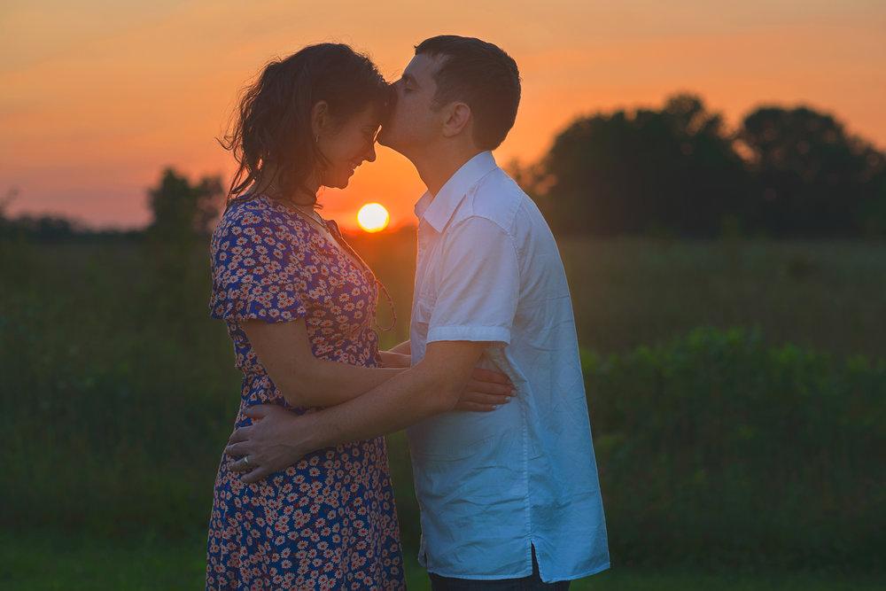Couple Anniversary at Sunset