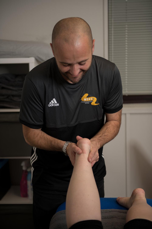Sports Massage Move4 Physiotherapy Northampton Matt Lee