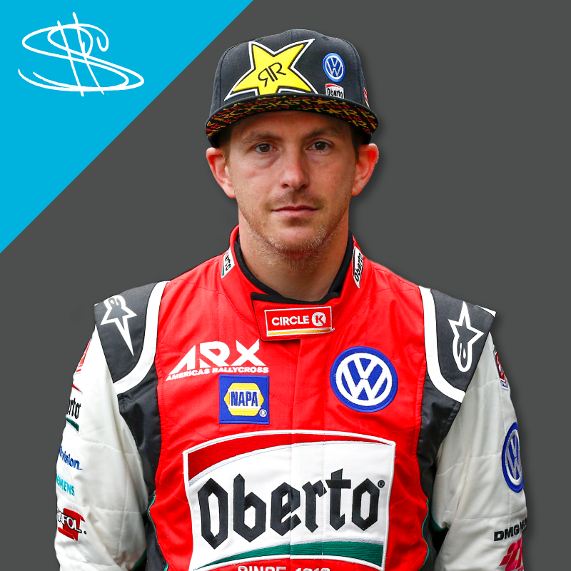 1ST PLACE SCOTT SPEED  86 POINTS  TEAM: VOLKSWAGEN ANDRETTI RALLYCROSS  NATIONALITY: USA -