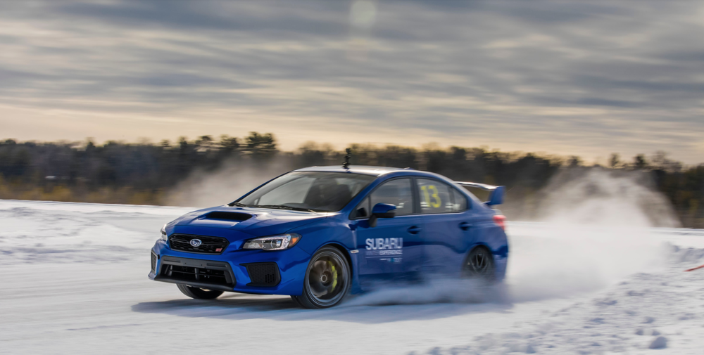 The 2019 Subaru Winter Experience begins February 12 in Eagle River, Wisconsin