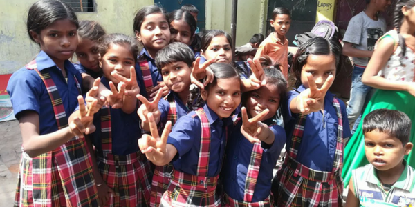 The girls at The SCIP ECO School are rocking it in the new uniforms. <3