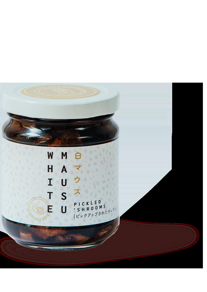 white mausu pickled_shrrom