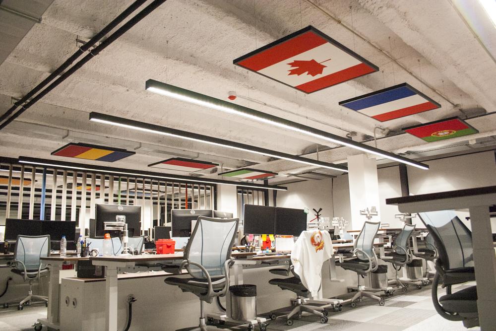 acoustic art ceiling panels