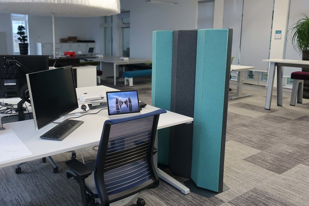 Office Acoustic Divider