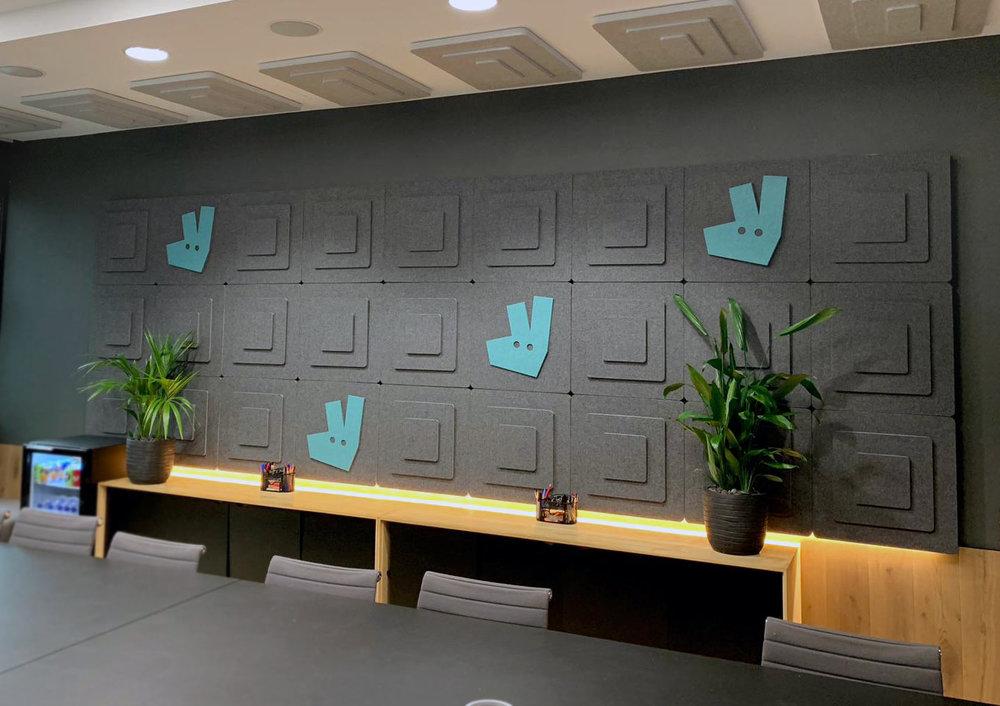 Deliveroo Acoustic Tiles