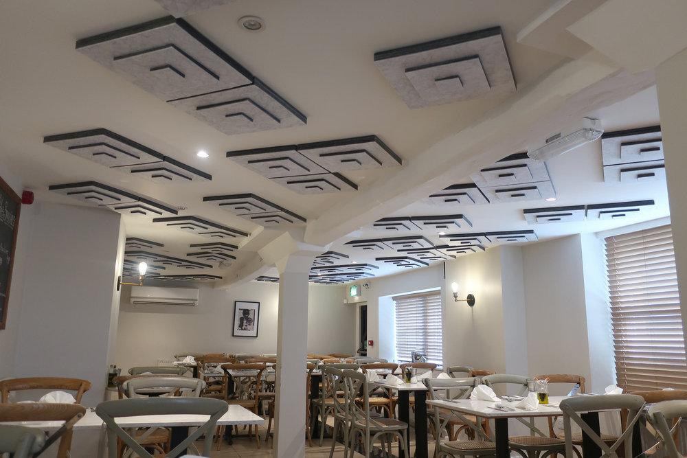 Restaurant Acoustic Tiles