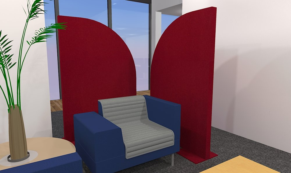 Acoustic Divider Screen