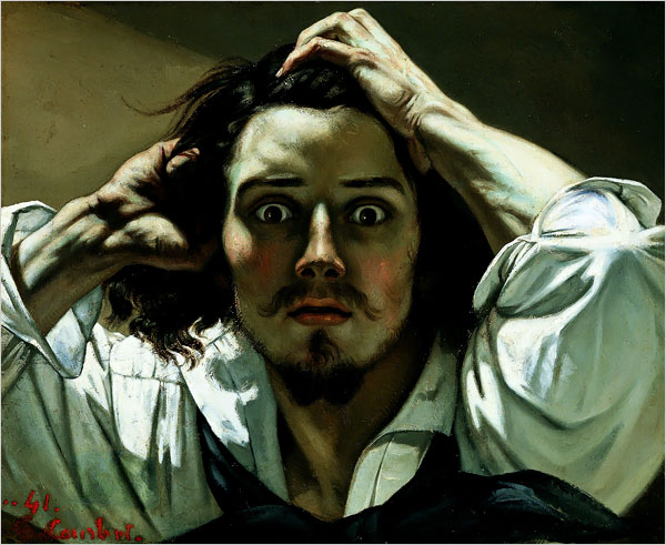 Gustave Courbet - Self-Portrait (The Desperate Man)