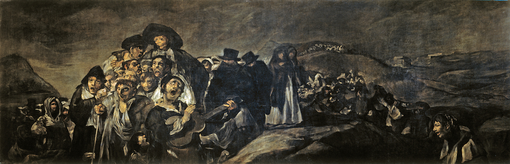 Francisco Goya - A Pilgrimage to San Isidro