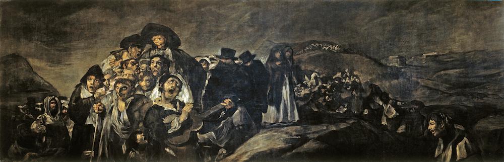 Francisco Goya - Le pélerinage de San Isidro