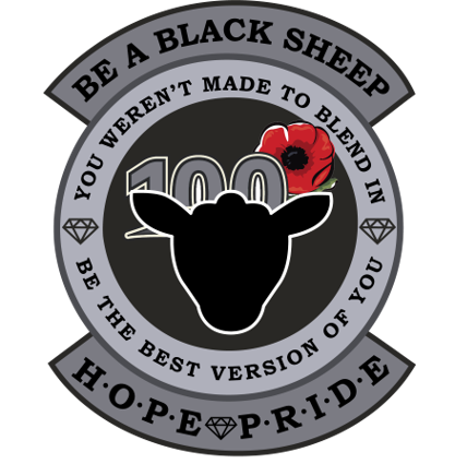BE A BLACK SHEEP