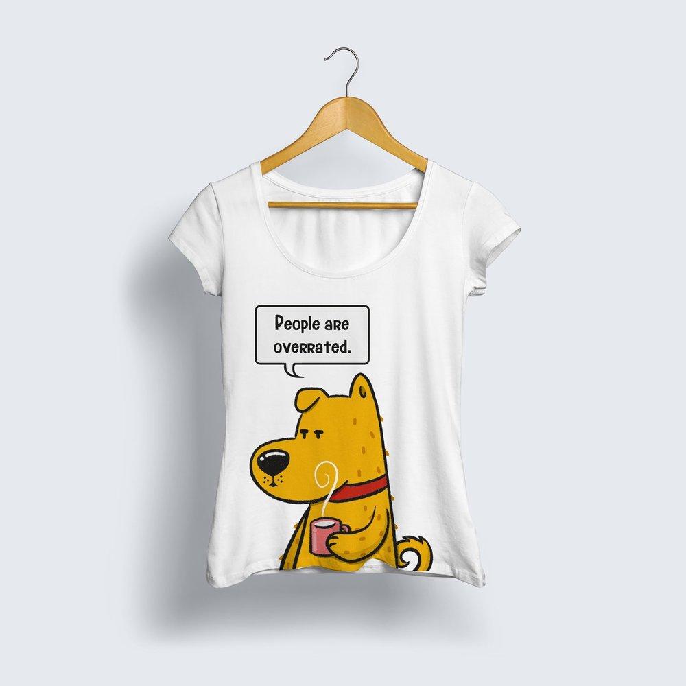 Ken & Chip T-shirt Women- ₹499