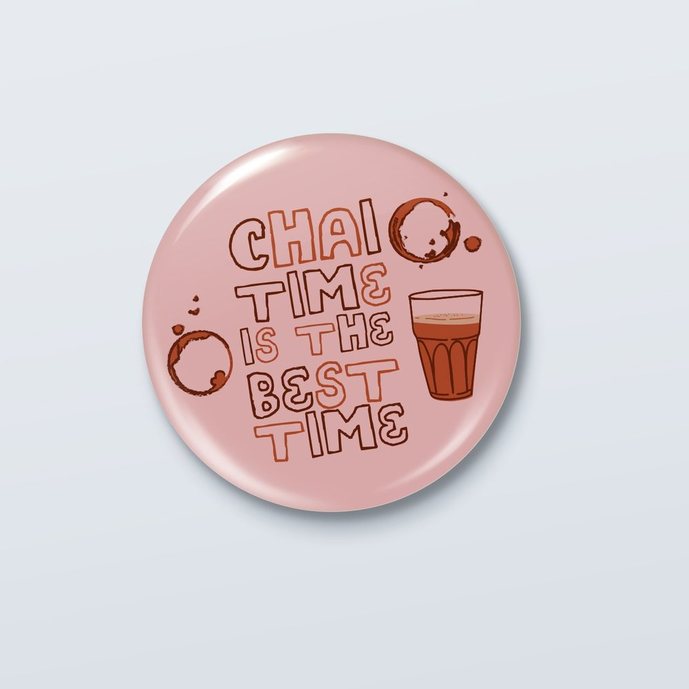 Chai Time Badge - ₹49