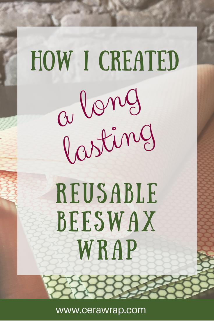 cerawrap reusable beeswax foodwrap
