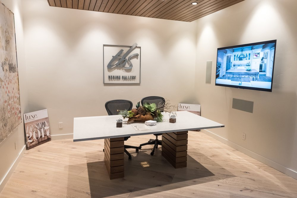 Conference room at TBS Design Gallery