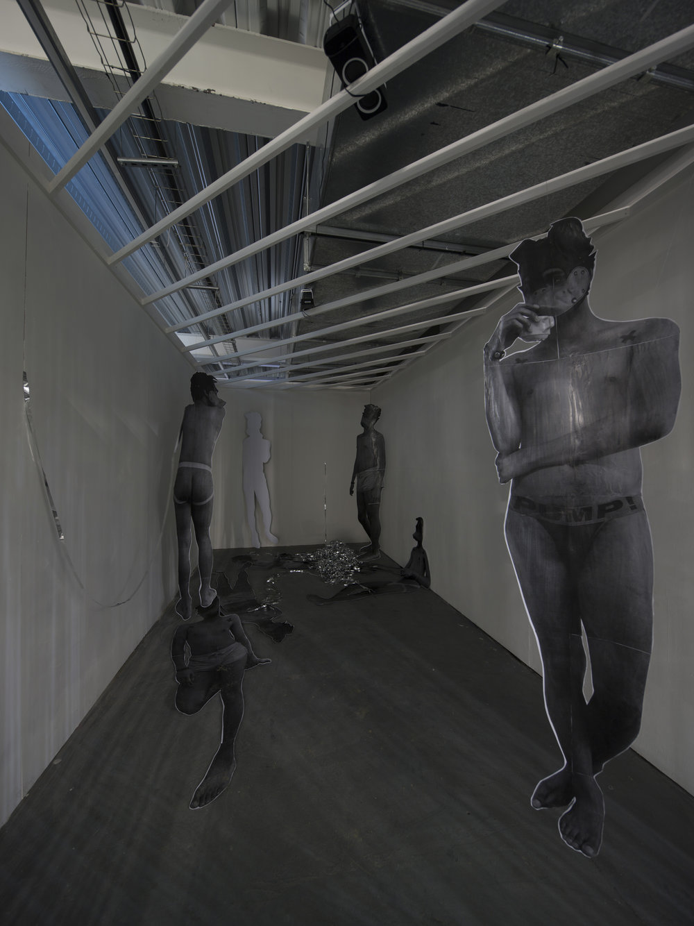 Installation view (without video)
