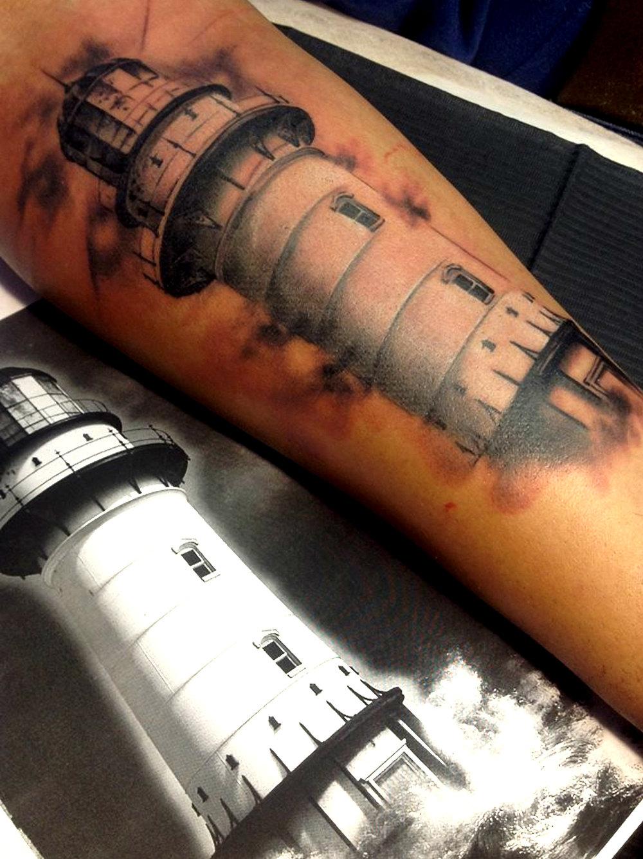 Ethel Laka - Lighthouse Tattoo
