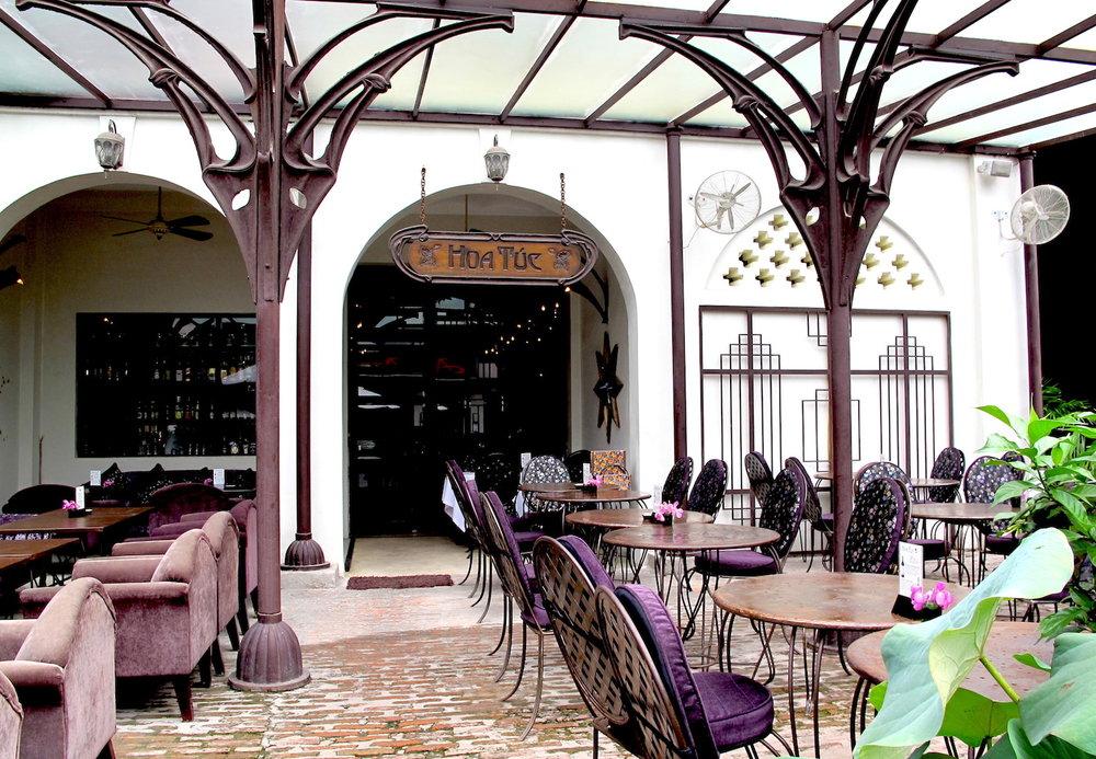 Hoa Tuc restaurant em Ho Chi Minh City. Foto:  Hello Saigon
