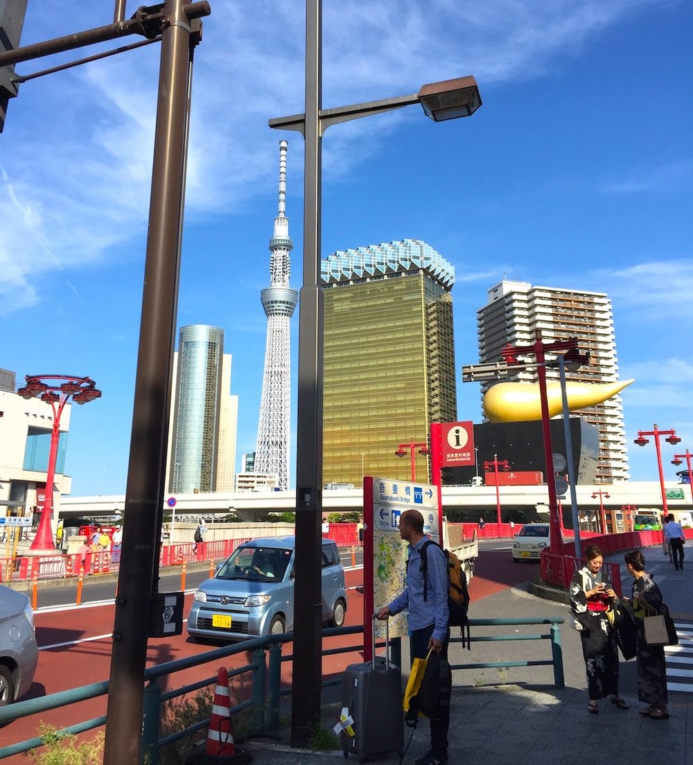 Lost in translation in Asakusa. Photo: Patti Neves