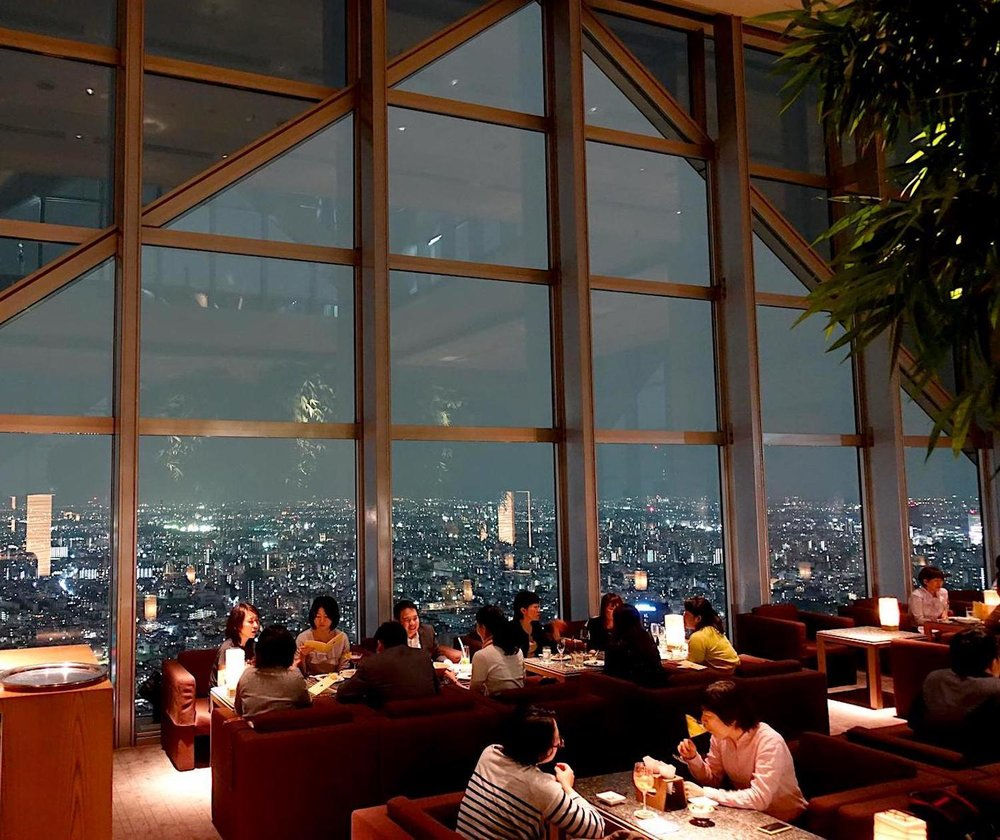 New York Bar, no Park Hyatt em Tokyo. Photo by  Topmiles