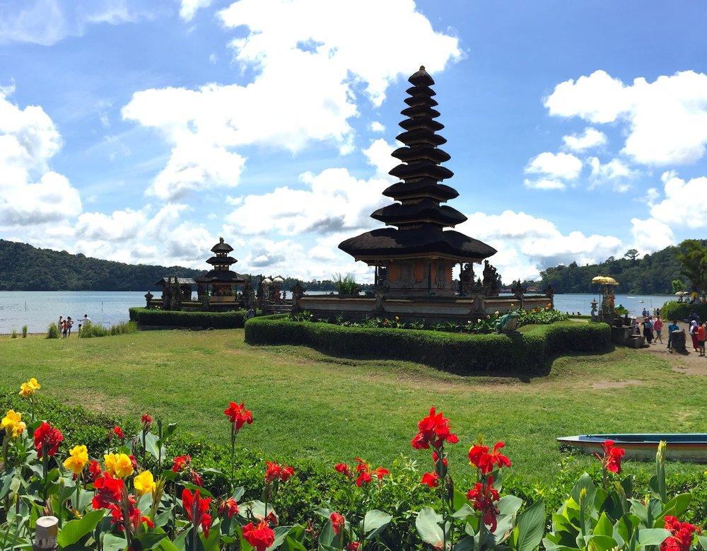 Pura Ulun Danu Bratan em Bali. Foto: Patti Neves