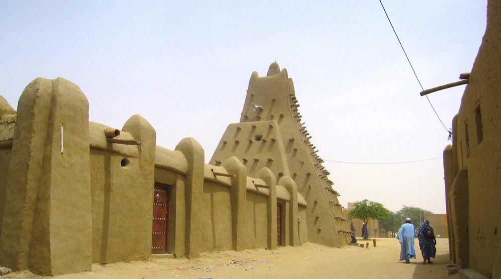 Mesquita de Sancoré (Mali). Foto: Patti Neves