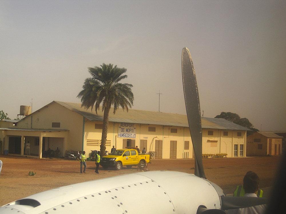 Aeroporto de Mopti. Foto: Patti Neves