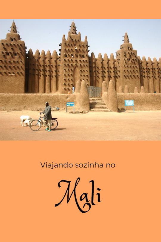 Viajando sozinha no Mali. Photo Credit: Ruud Zwart