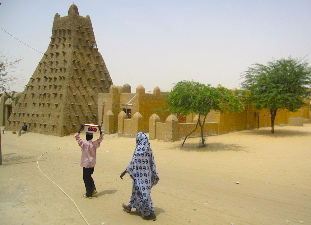 A mesquita de Sancoré, Timbuktu (Mali). Foto: Patti Neves