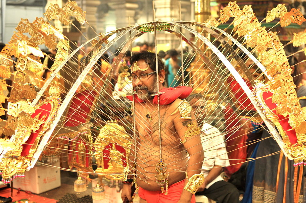 Image result for thaipusam in singapore
