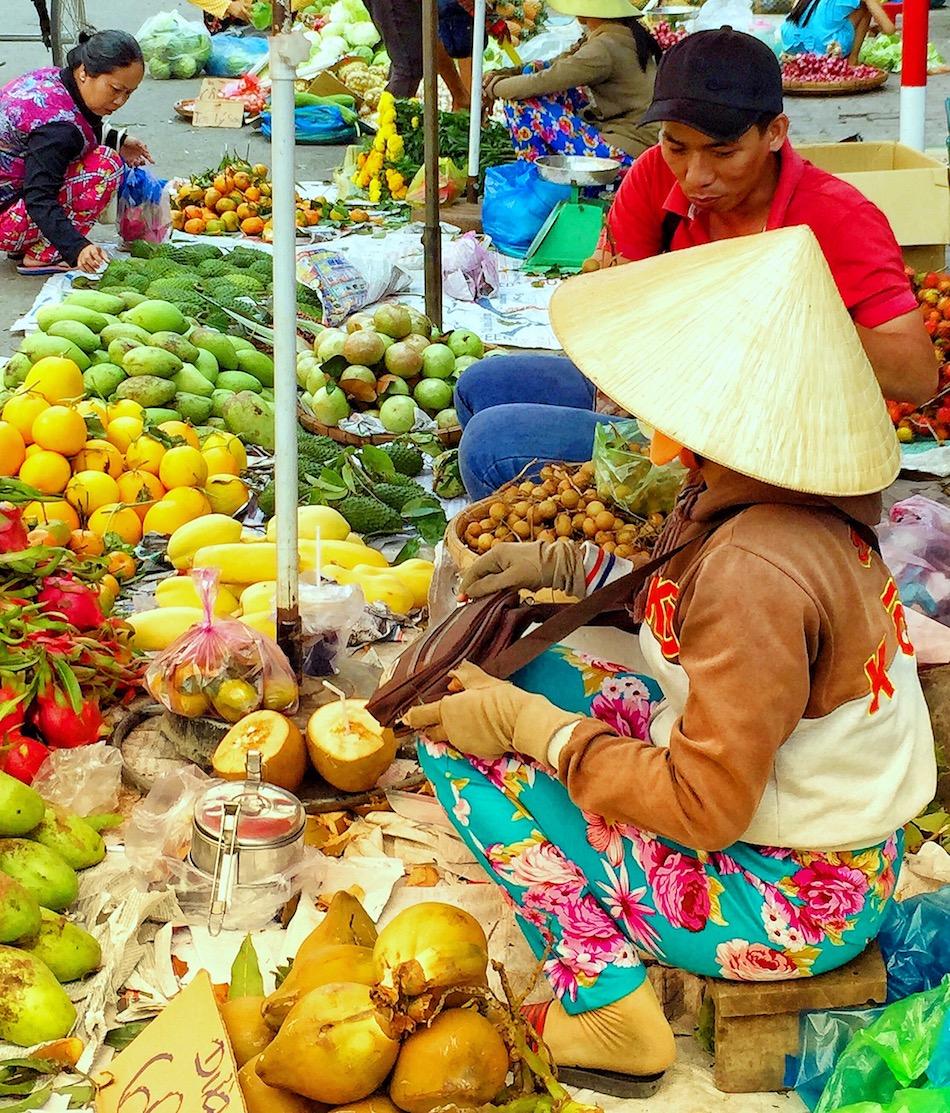 Fotografar tudo o que é diferentão. Uma idéia original em Ho Chi Minh? Foto: Patti Neves