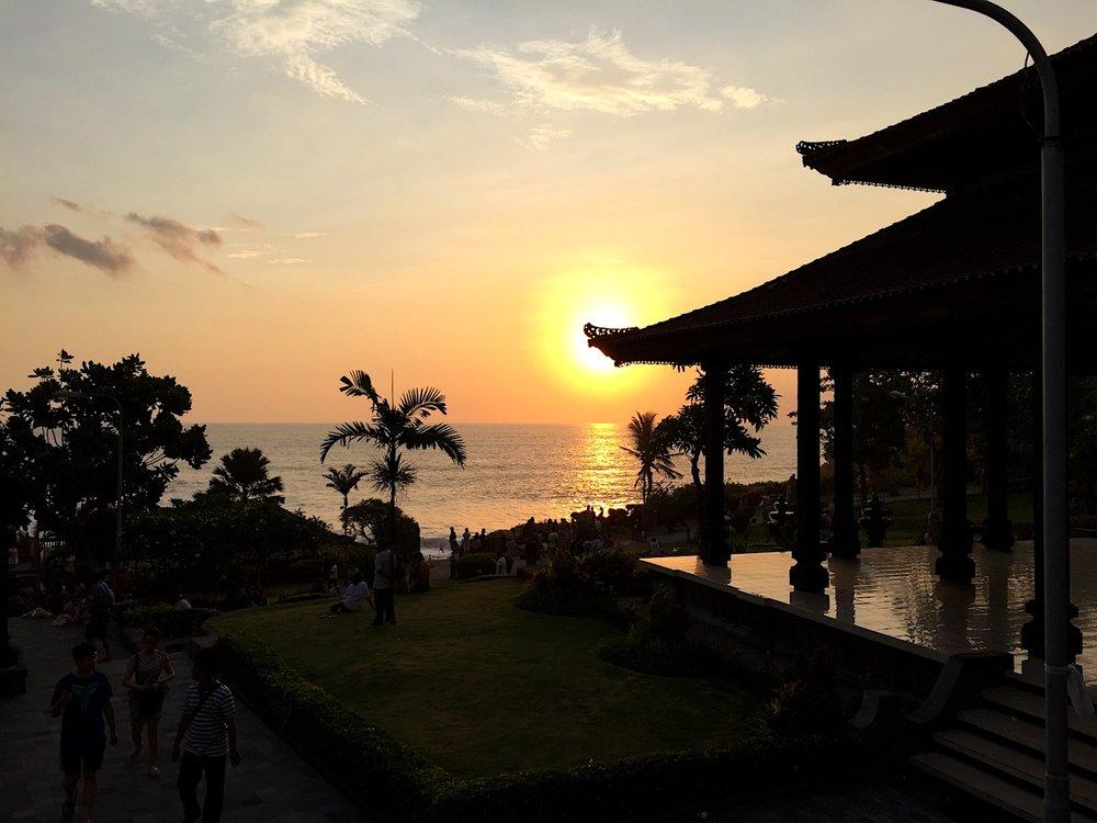 Fim de tarde em Tanah Lot, Bali. Foto:Patti Neves