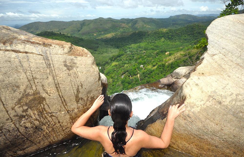 Cachoeira de Diyaluma, Sri Lanka. Foto: David Mattatia