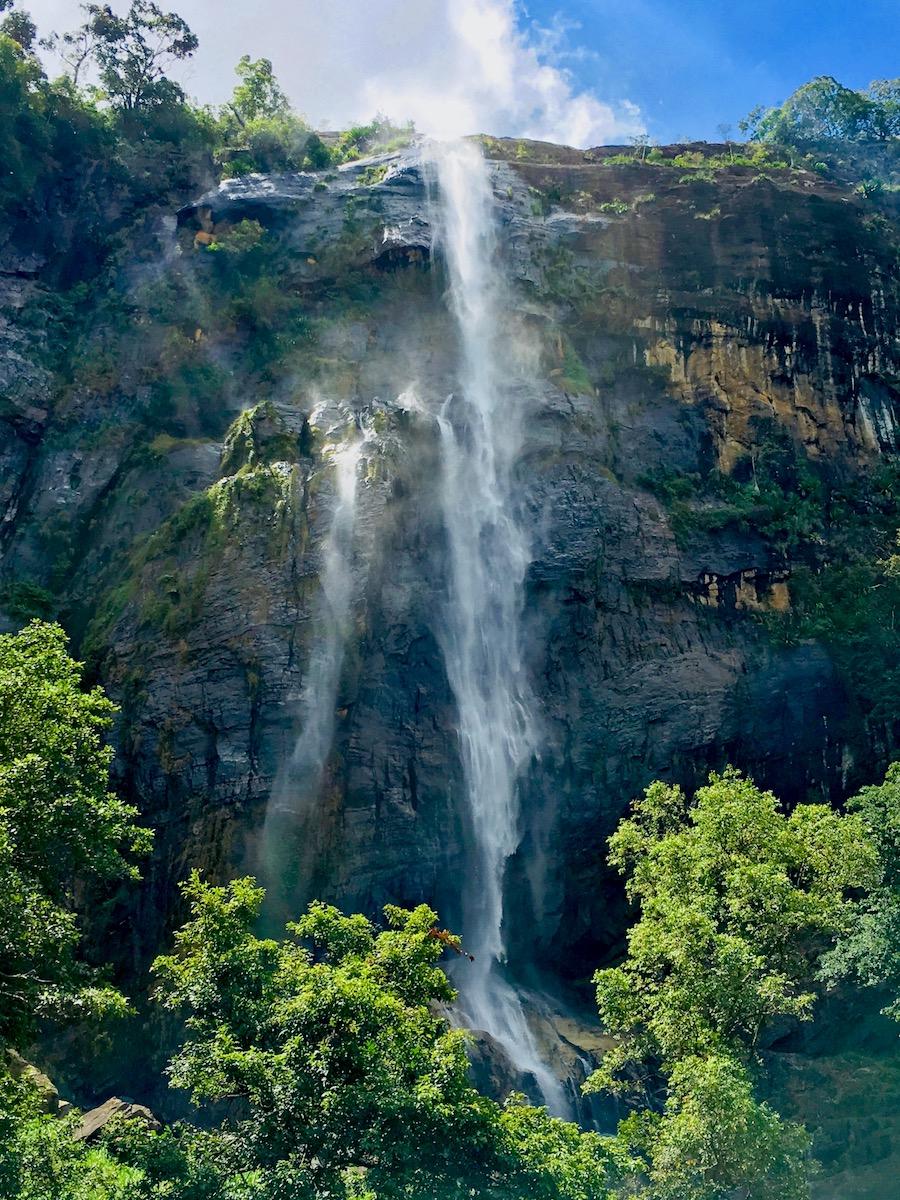 Diyaluma falls, Sri Lanka. Foto: Patti Neves