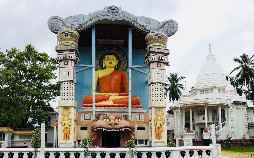 Angurukaramulla, templo budista em Nemgombo, Sri Lanka. Foto: Patti Neves