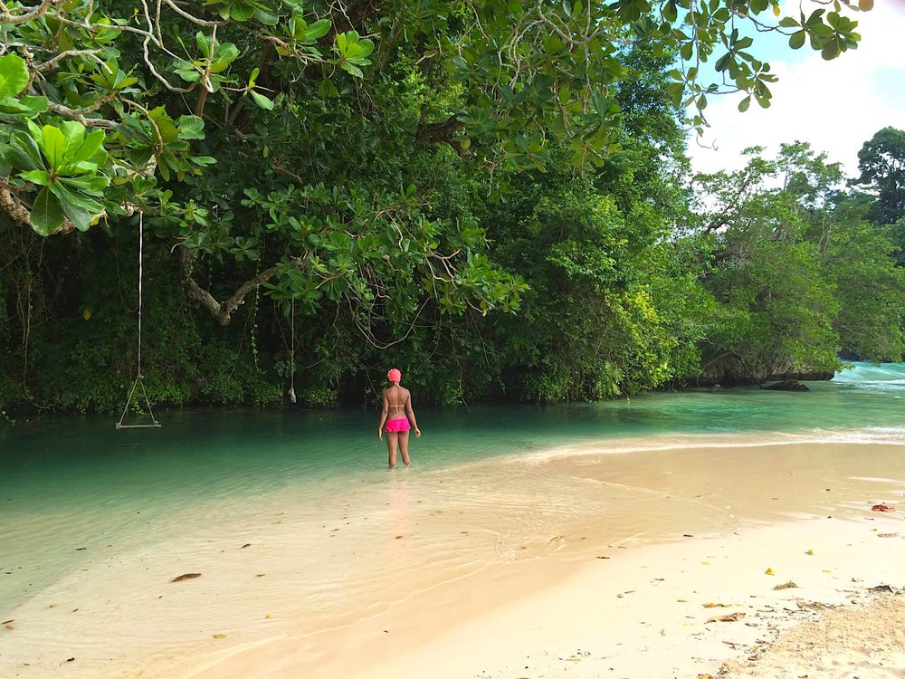 Frenchman's cove, Jamaica. Foto: Patti Neves